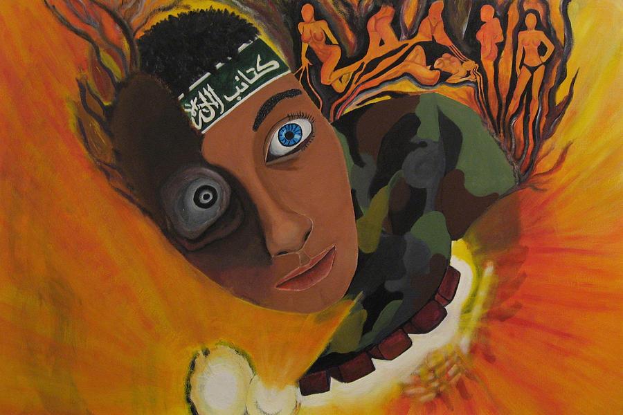 Schoolboy Fantasy Painting
