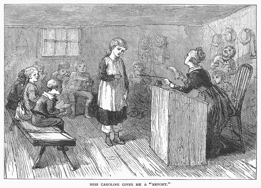 Schoolhouse, 1877 Photograph