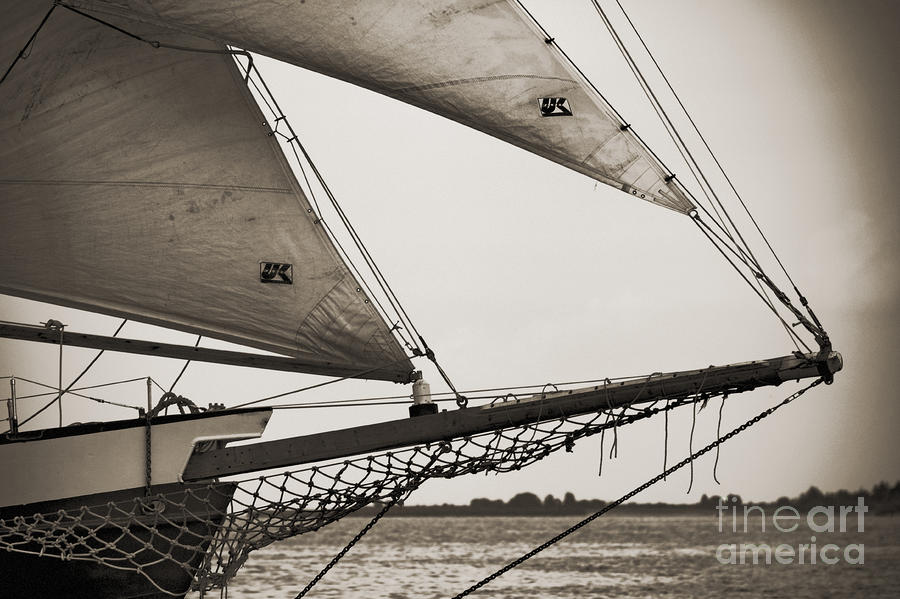 Schooner Pride Tall Ship Charleston Sc Photograph