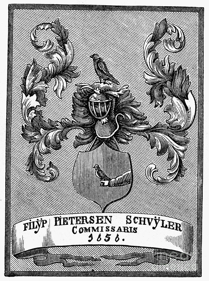 Schuyler Family: Arms Photograph