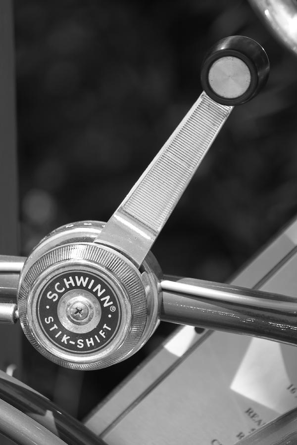 Schwinn Stik-shift Photograph  - Schwinn Stik-shift Fine Art Print