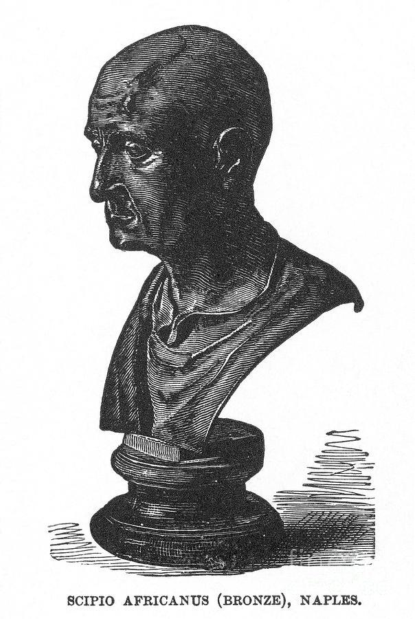 2nd Century B.c Photograph - Scipio Africanus by Granger