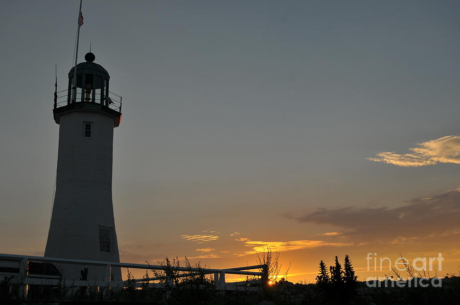 Scituate Light Photograph