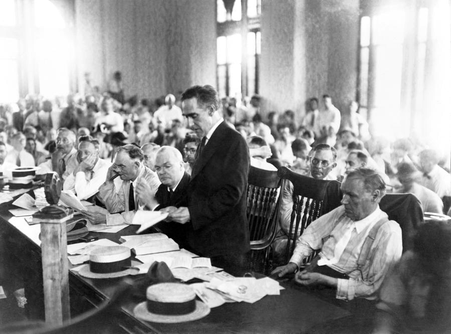 Scopes Trial, July 10�21, 1925, Dayton Photograph  - Scopes Trial, July 10�21, 1925, Dayton Fine Art Print