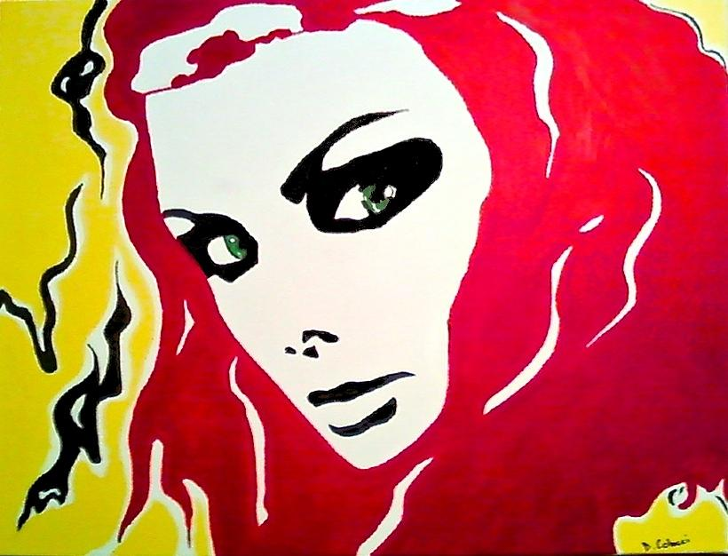 Scorned Woman Painting  - Scorned Woman Fine Art Print