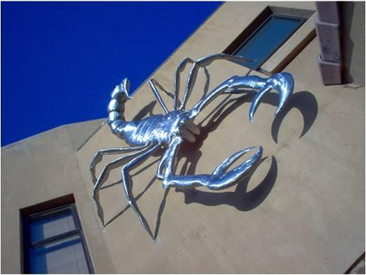 Large Sculpture - Scorpion by Jaques
