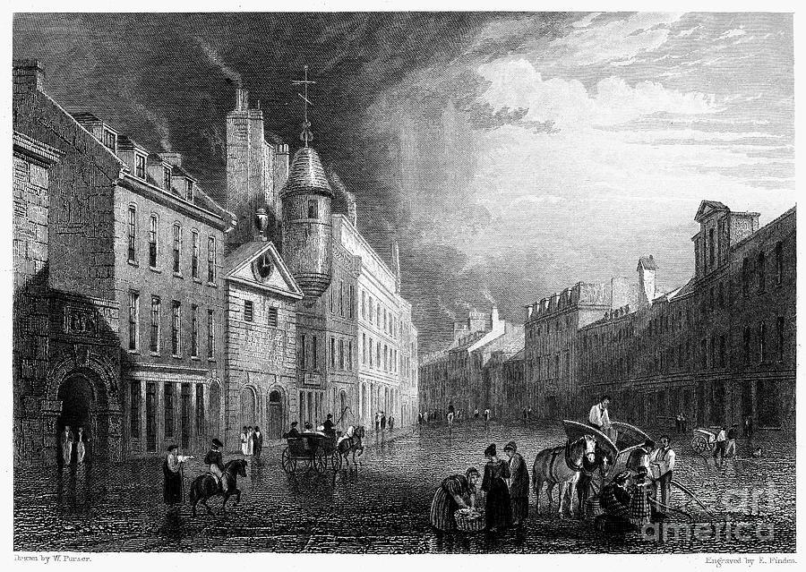 Scotland: Aberdeen, 1833 Photograph
