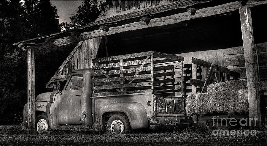 Scotopic Vision 5 - The Barn Photograph