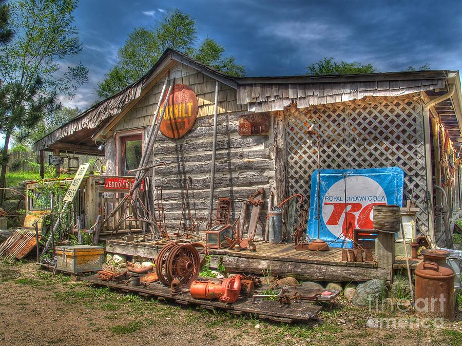 Scrap House Photograph  - Scrap House Fine Art Print