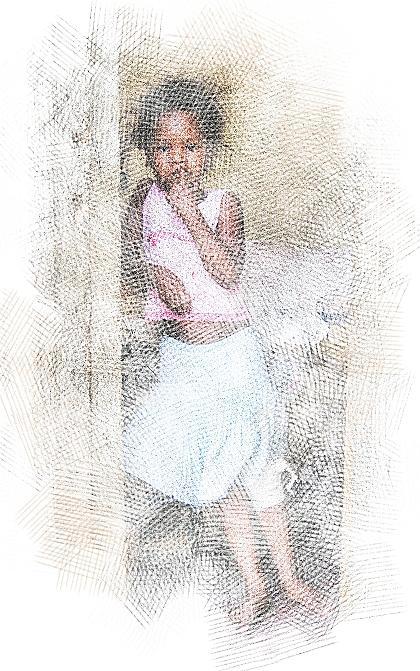 Scraped Knee Digital Art