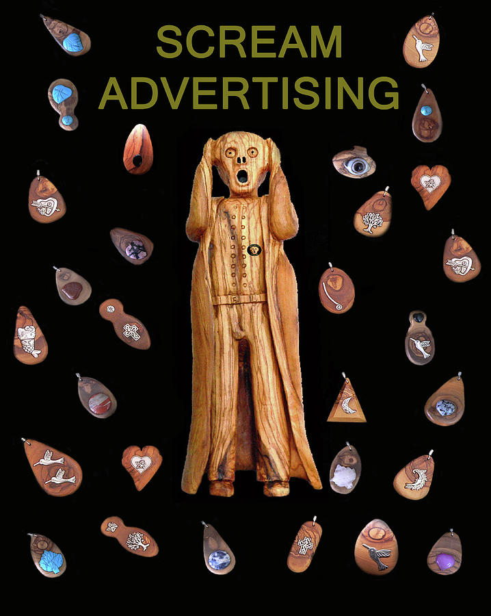 Scream Advertising Mixed Media