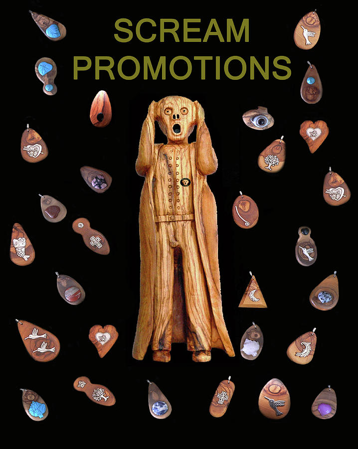 Scream Promotions Mixed Media  - Scream Promotions Fine Art Print