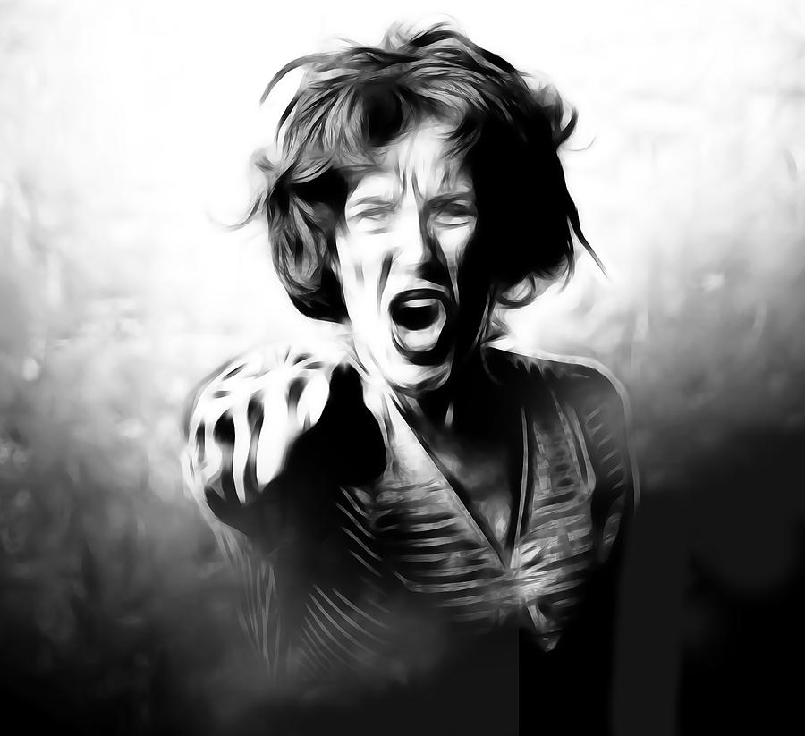 Scream Digital Art  - Scream Fine Art Print