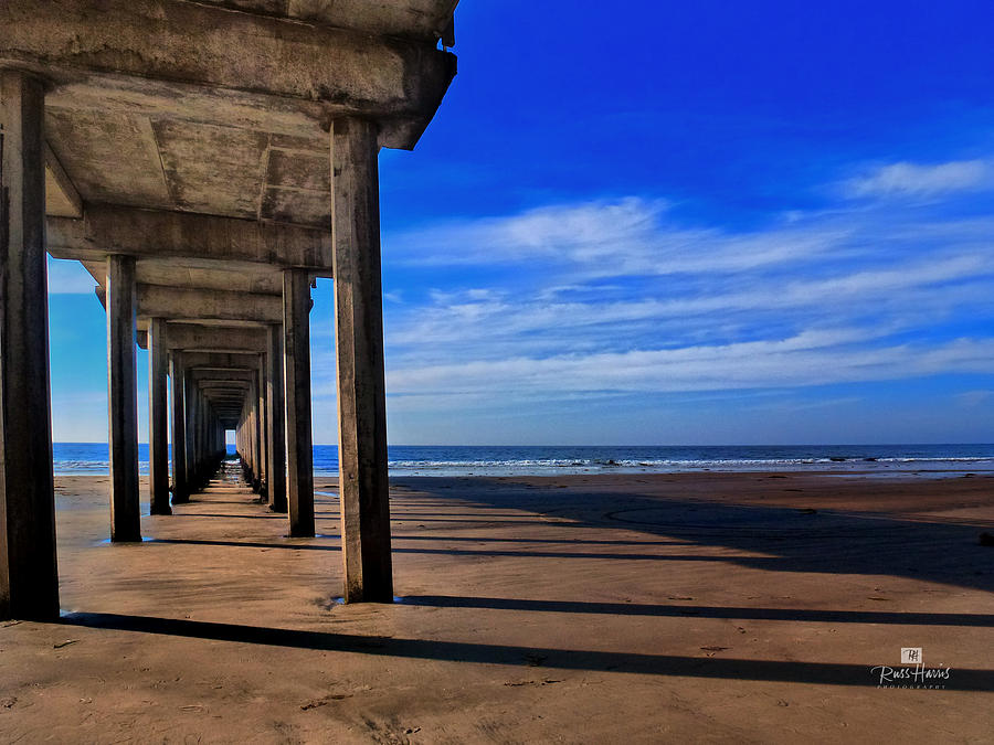 Scripps Pier Late Afternoon Photograph  - Scripps Pier Late Afternoon Fine Art Print