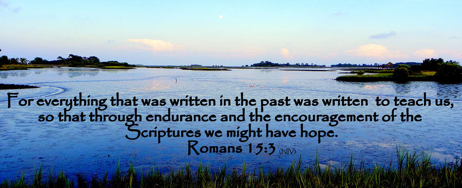 Scripture For Hope Photograph