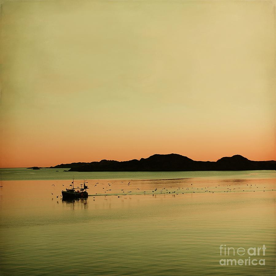 Sea After Sunset Photograph  - Sea After Sunset Fine Art Print