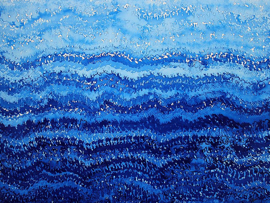 Sea And Sky Original Painting Painting  - Sea And Sky Original Painting Fine Art Print