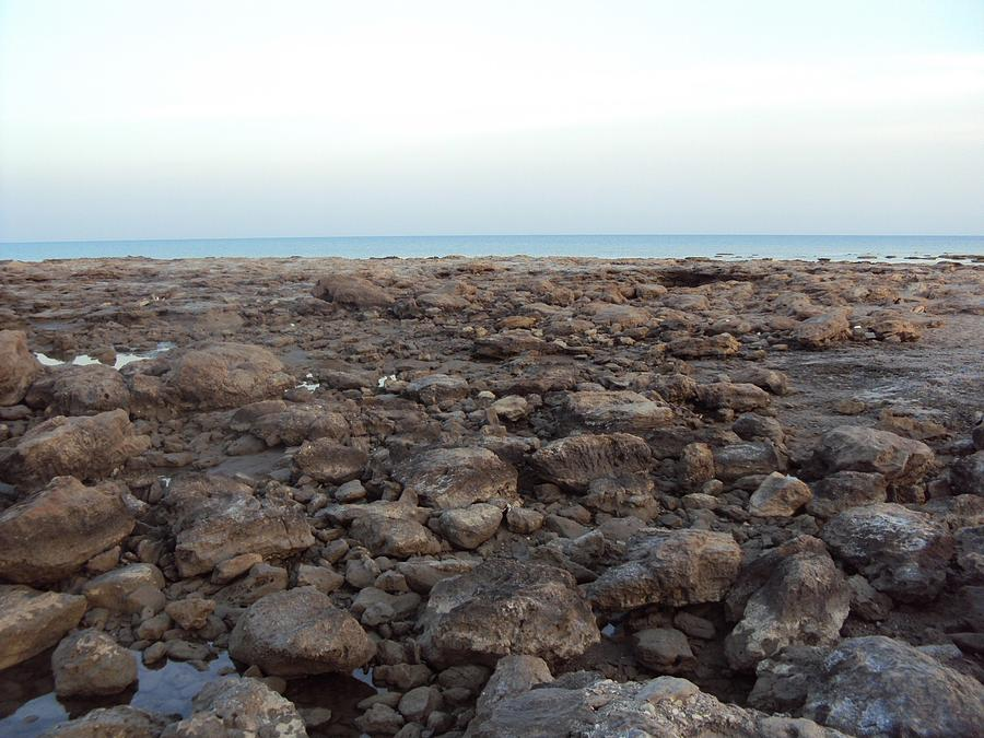 Sea And Stones.. Photograph