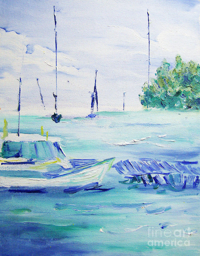 Sea Breeze Painting
