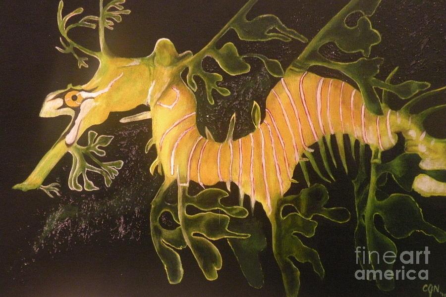 Sea Dragon Painting