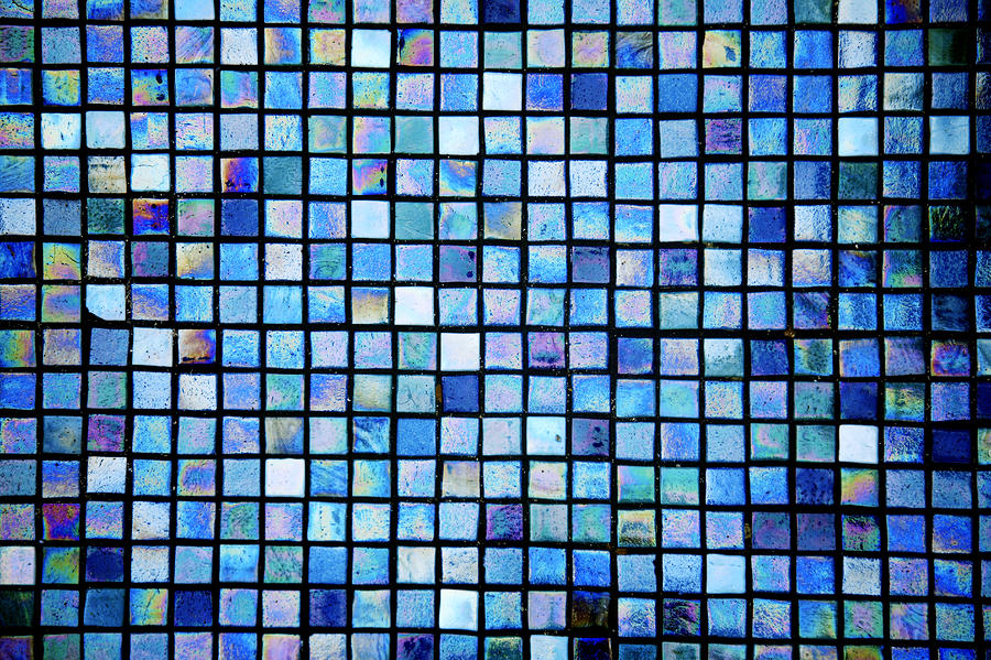Sea Of Tiles Photograph