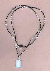 Sea Opal Wrap-around Necklace Jewelry