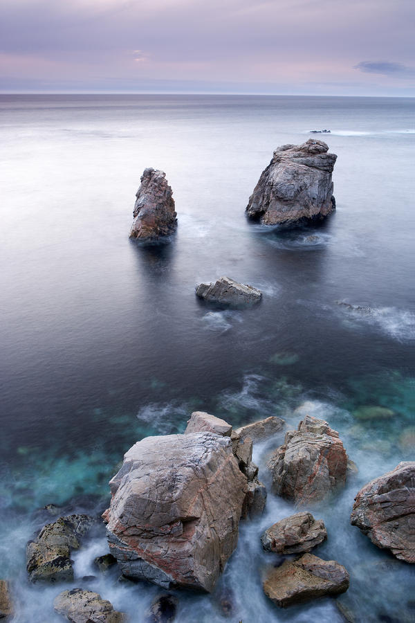Sea Stacks Photograph