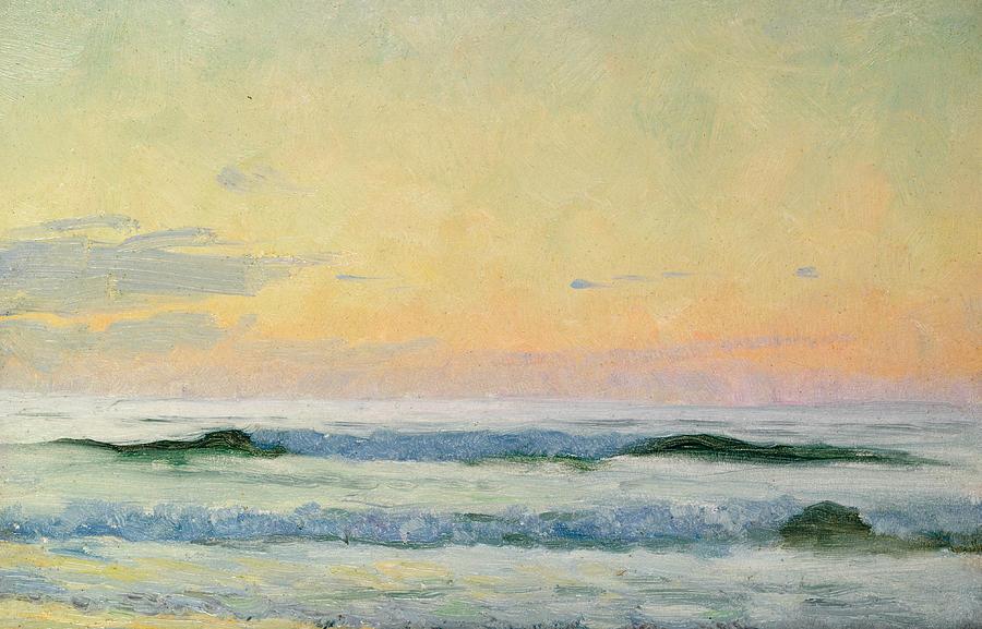 Sea Study Painting
