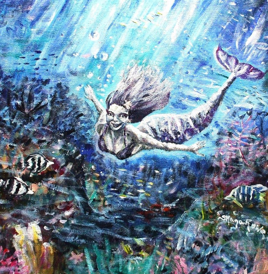 Sea Surrender Painting