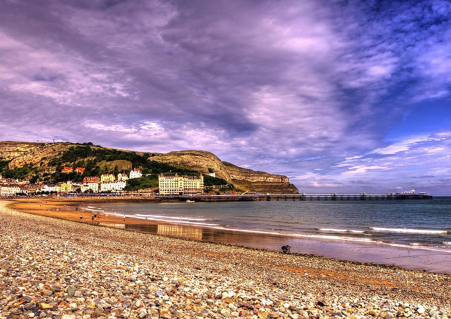Sea View Town Photograph