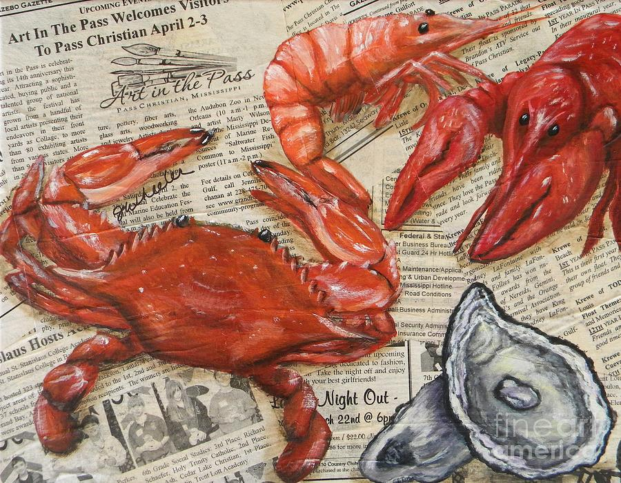 Seafood Special Edition by JoAnn Wheeler: fineartamerica.com/featured/seafood-special-edition-joann-wheeler.html