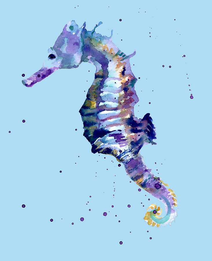 Seahorse Paintings for Sale