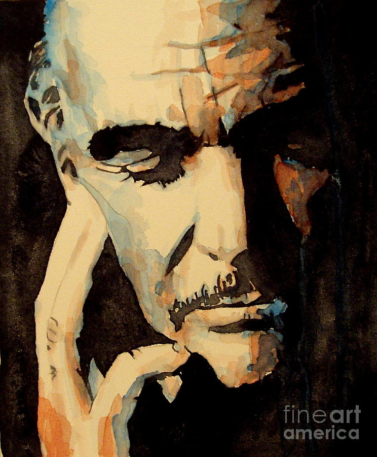 Sean Connery Painting