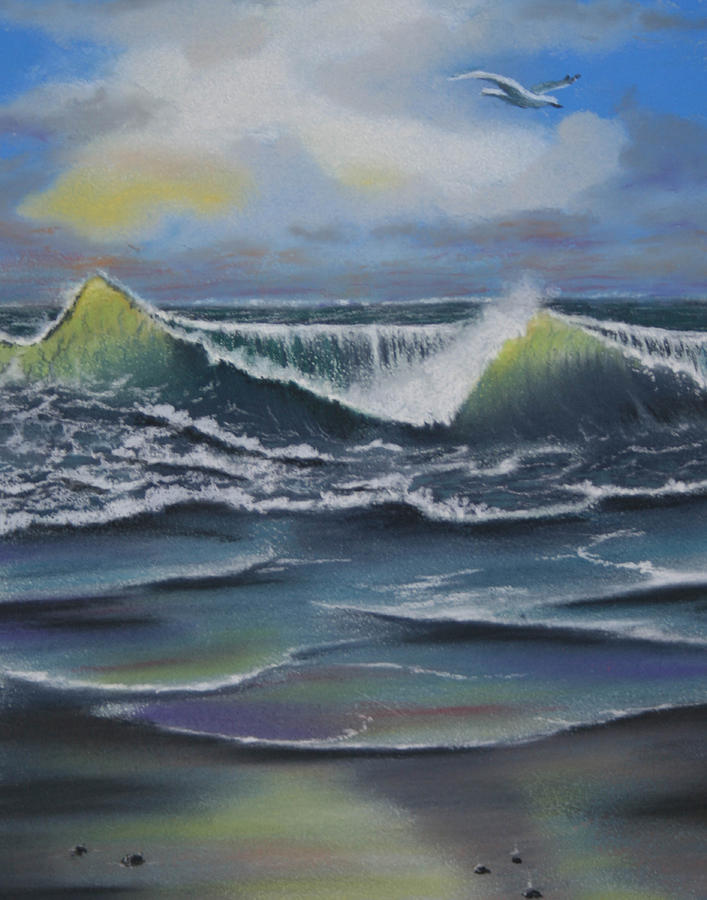 Seascape 3 Painting