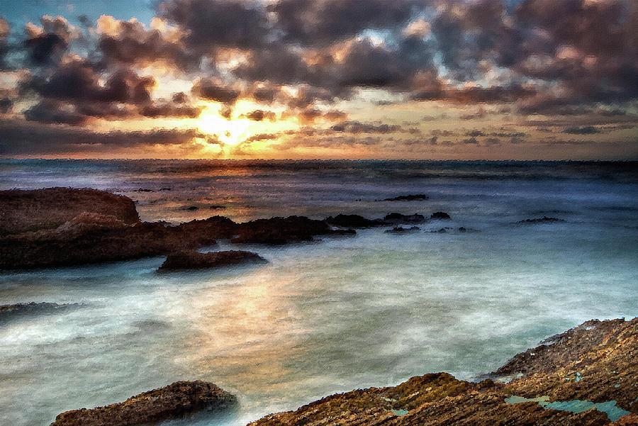 Seascape Paintings For Sale - Ocean Breath Painting