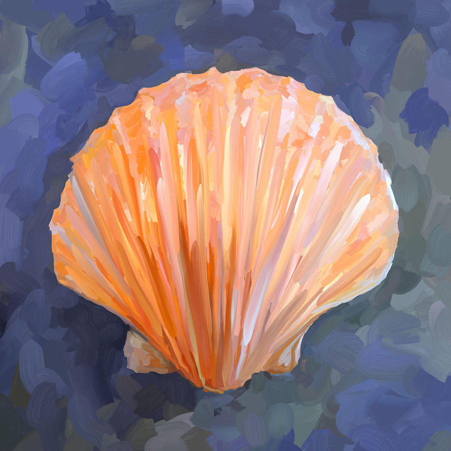 Seashell I Painting