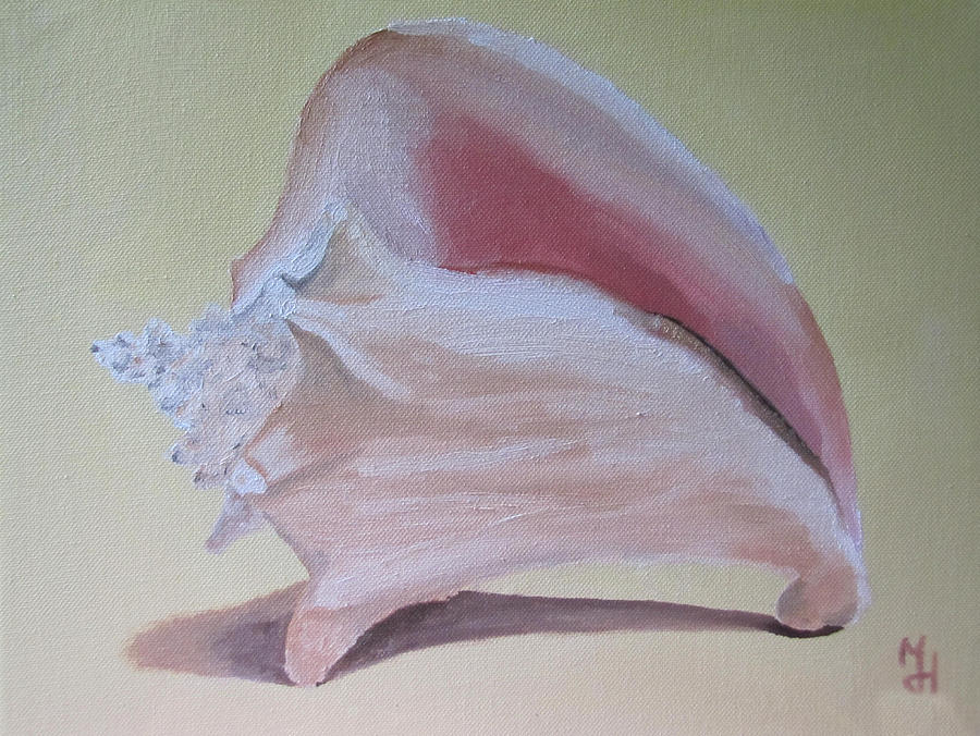 Seashell Painting  - Seashell Fine Art Print