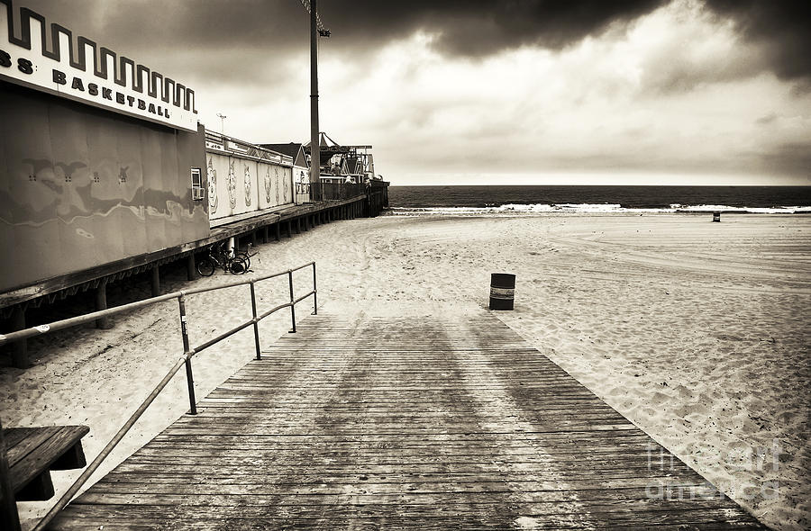Seaside Beach Entry Photograph  - Seaside Beach Entry Fine Art Print