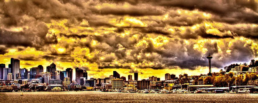 Seattle Cityscape IIi Photograph