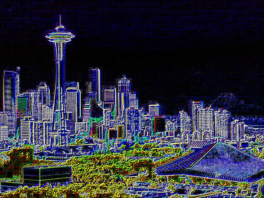 Seattle Quintessence Photograph  - Seattle Quintessence Fine Art Print