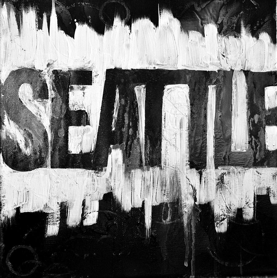 Seattle Wa Painting  - Seattle Wa Fine Art Print