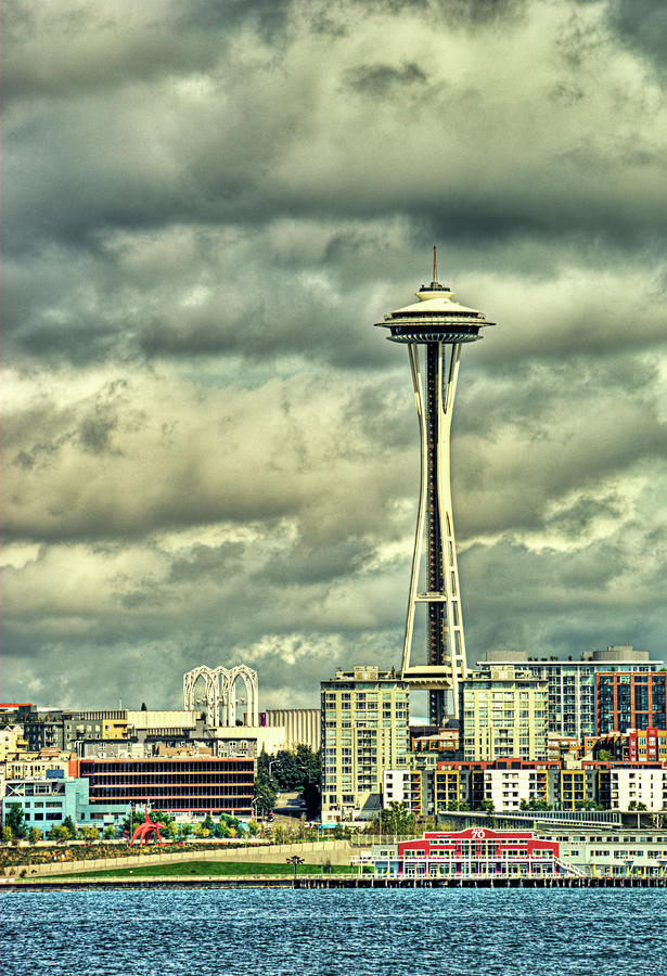 Seattles Landmark Photograph  - Seattles Landmark Fine Art Print
