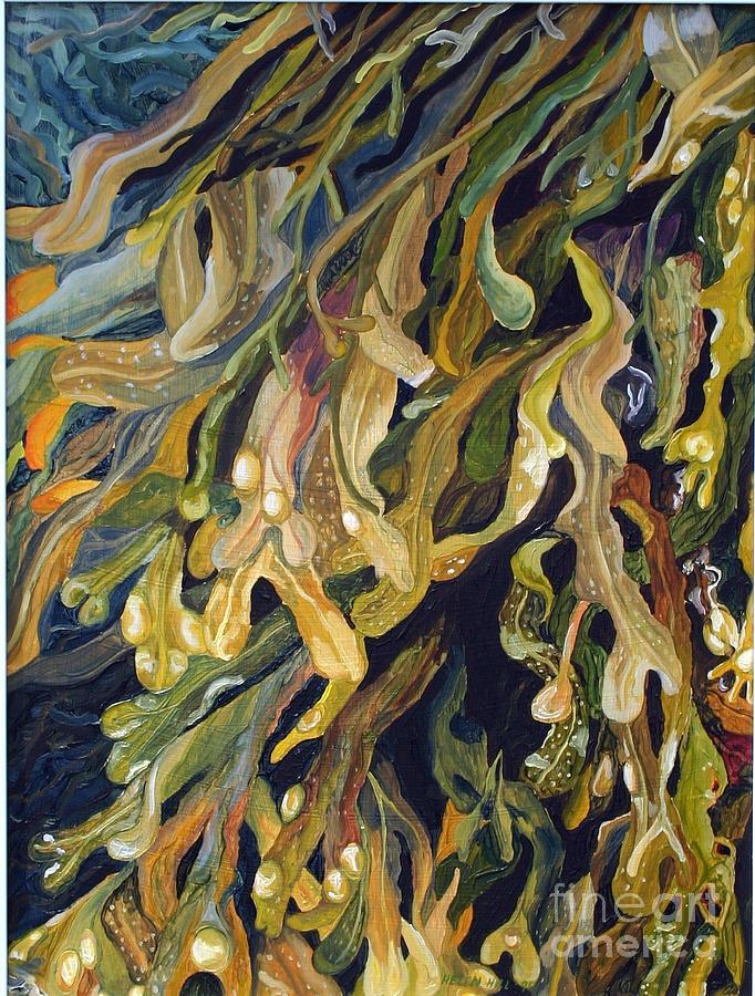 Weed Oil Paintings