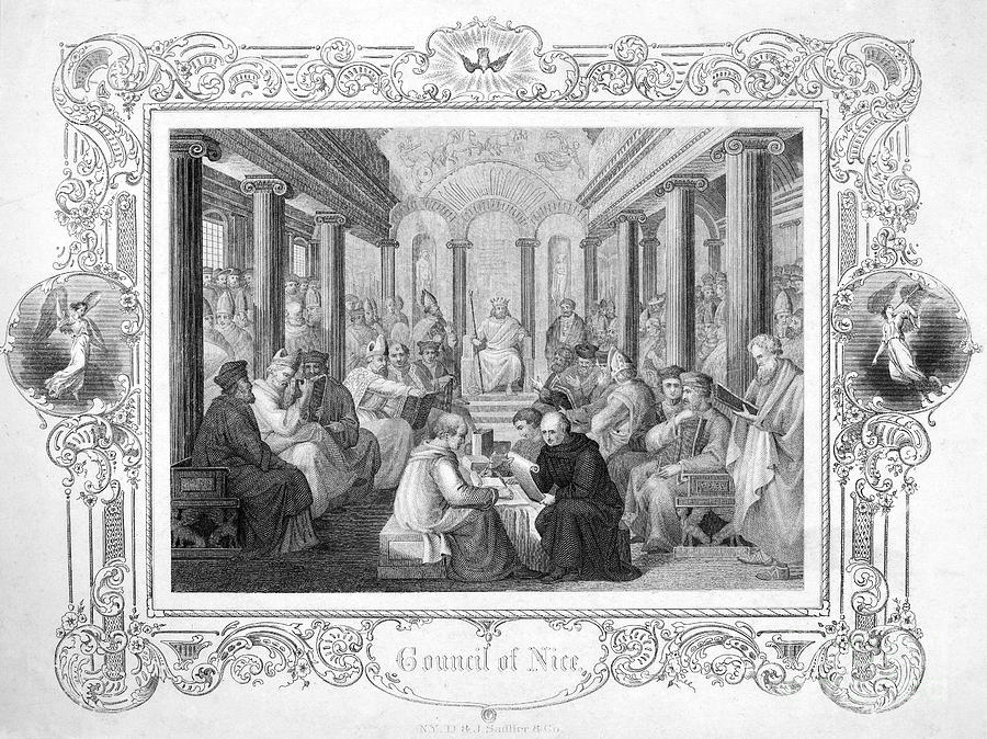 Second Council Of Nicaea Photograph