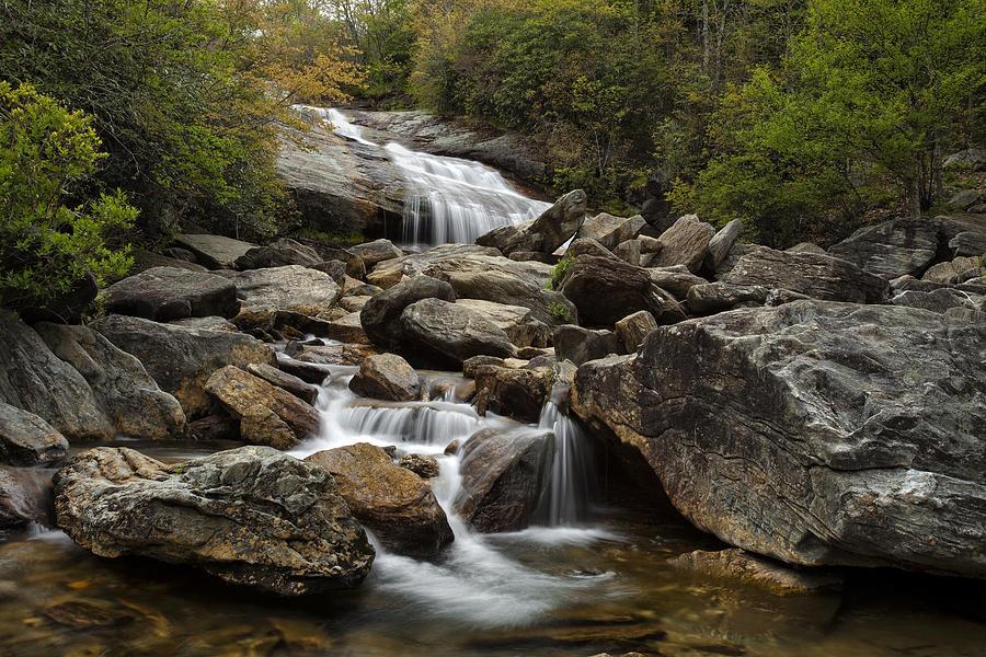 Second Falls - Blue Ridge Falls Photograph