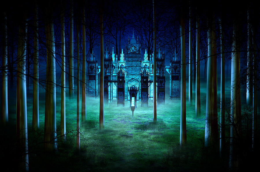 Secret Castle Digital Art