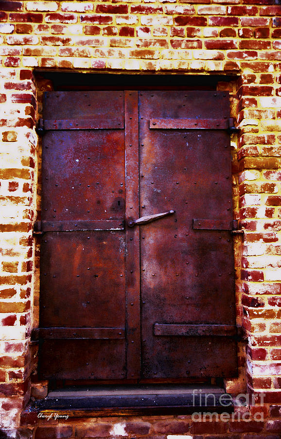 Secret Door Photograph  - Secret Door Fine Art Print