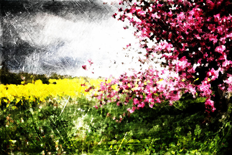 Secret Garden Digital Art  - Secret Garden Fine Art Print