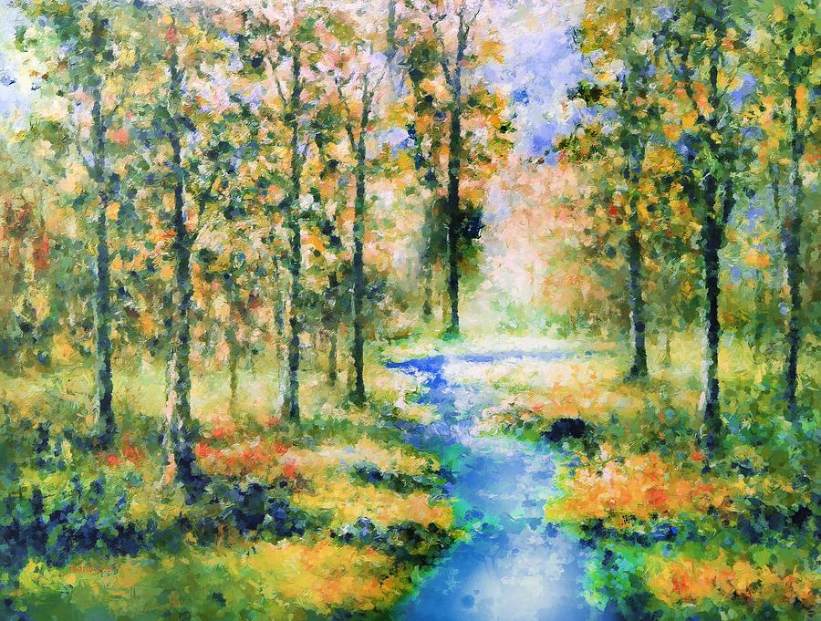 Secret Rivers Painting