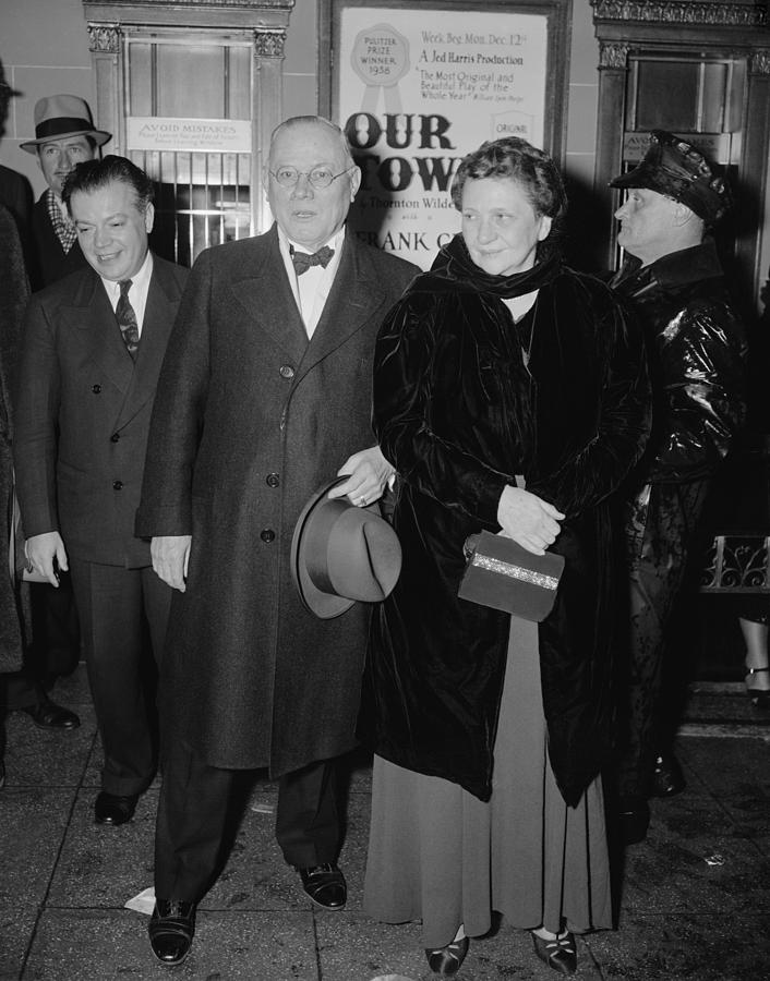 Secretary Of Labor Frances Perkins Photograph  - Secretary Of Labor Frances Perkins Fine Art Print